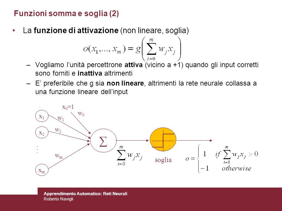 Funzioni somma e soglia (2)