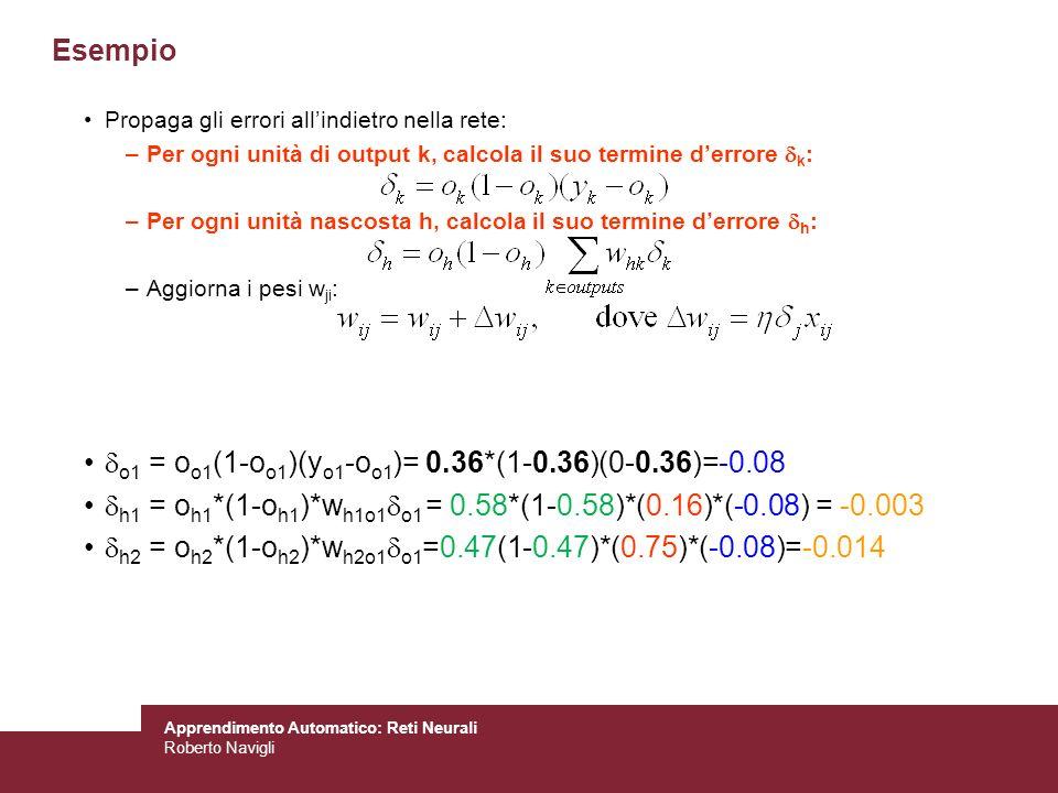 o1 = oo1(1-oo1)(yo1-oo1)= 0.36*(1-0.36)(0-0.36)=-0.08