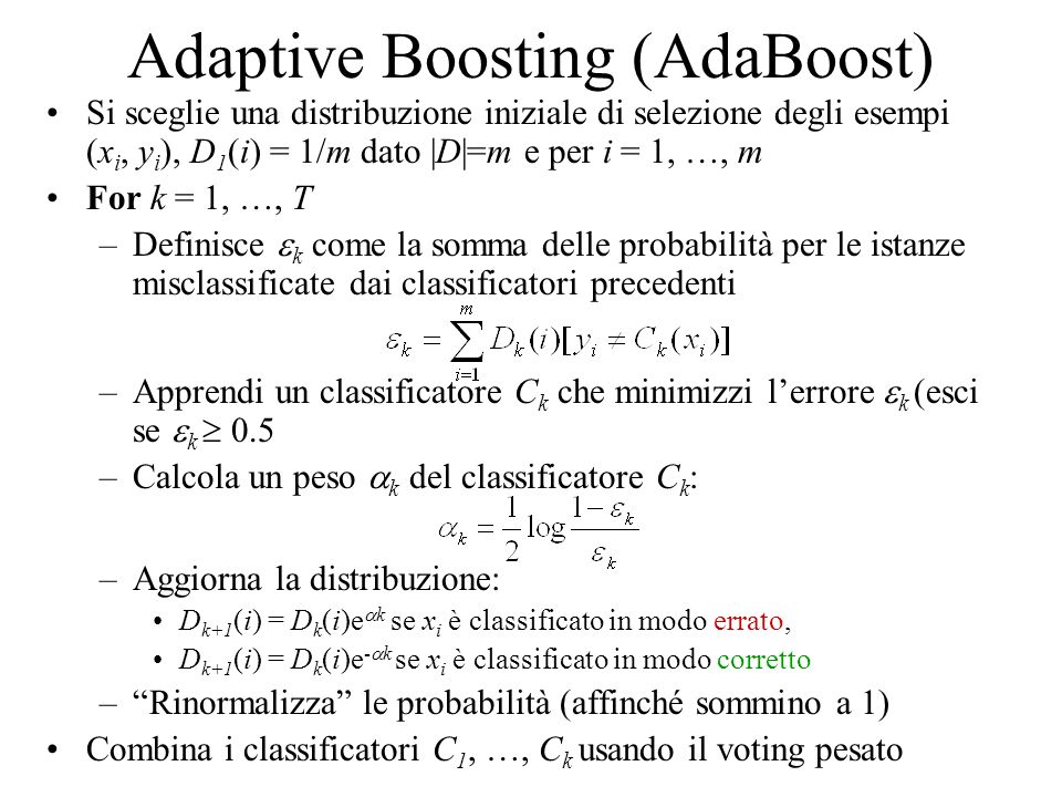 Adaptive Boosting (AdaBoost)