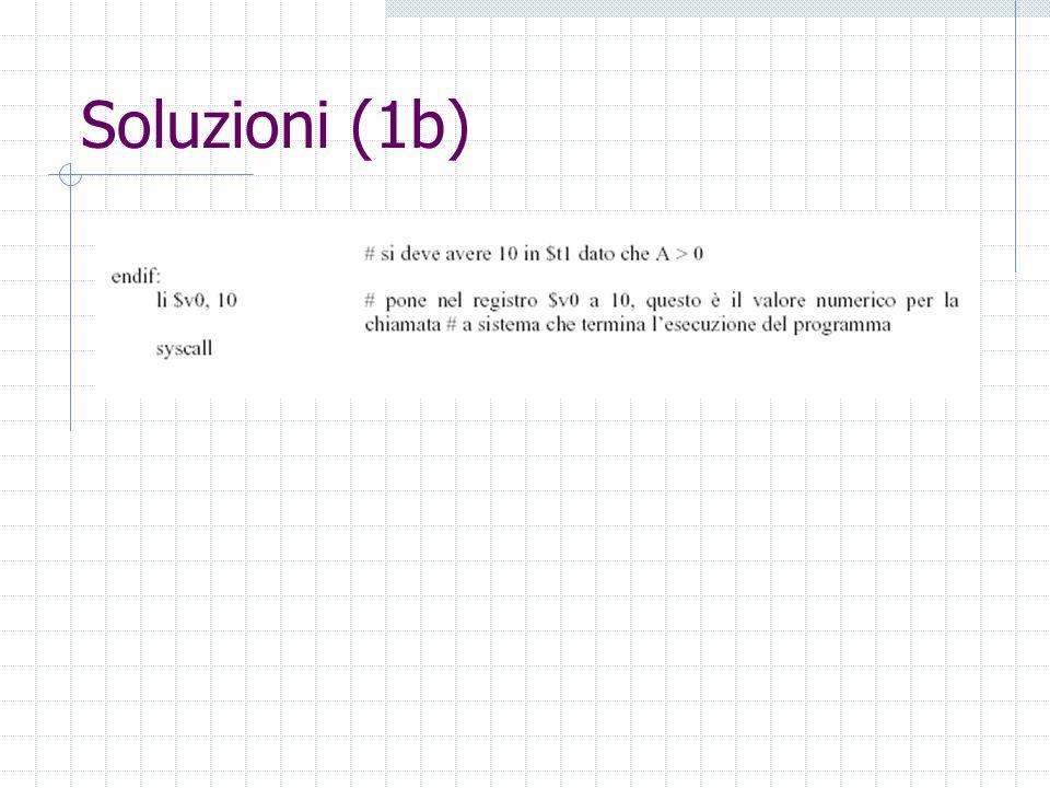 Soluzioni (1b)