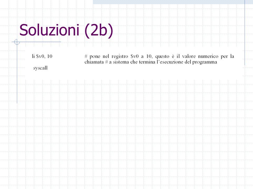 Soluzioni (2b)