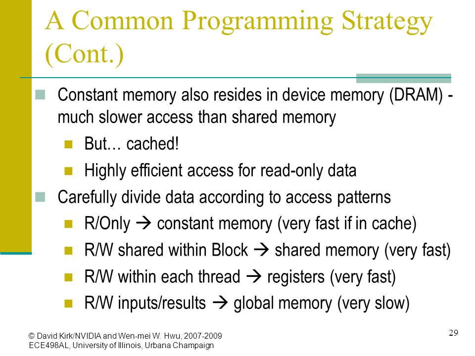 A Common Programming Strategy (Cont.)