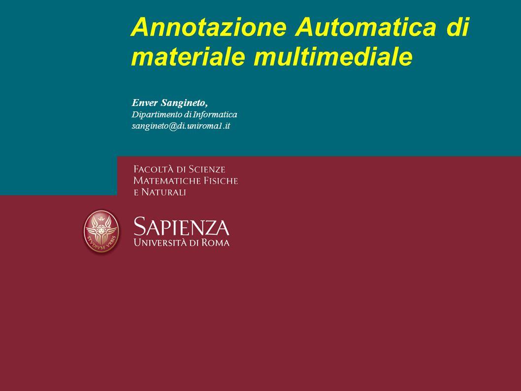 Annotazione Automatica di materiale multimediale