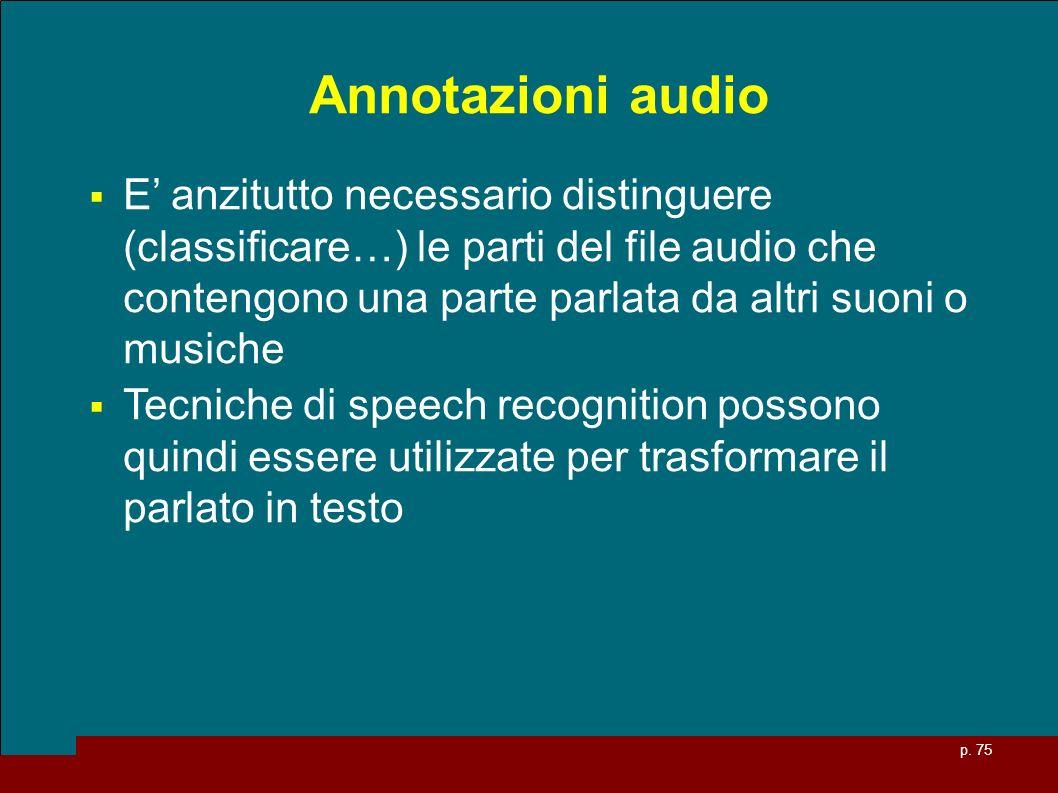 Annotazioni audio