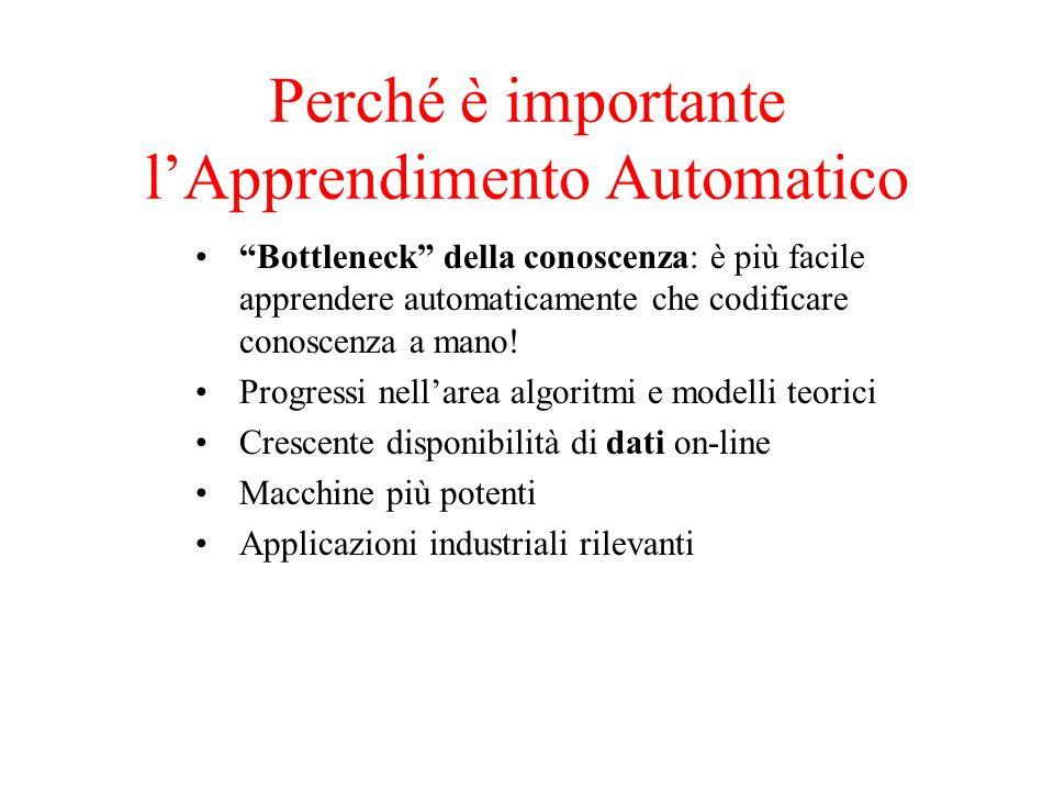 Perché è importante l'Apprendimento Automatico