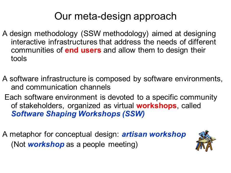 Our meta-design approach