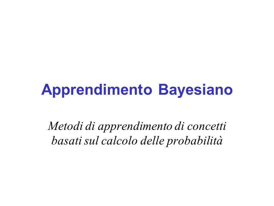 Apprendimento Bayesiano