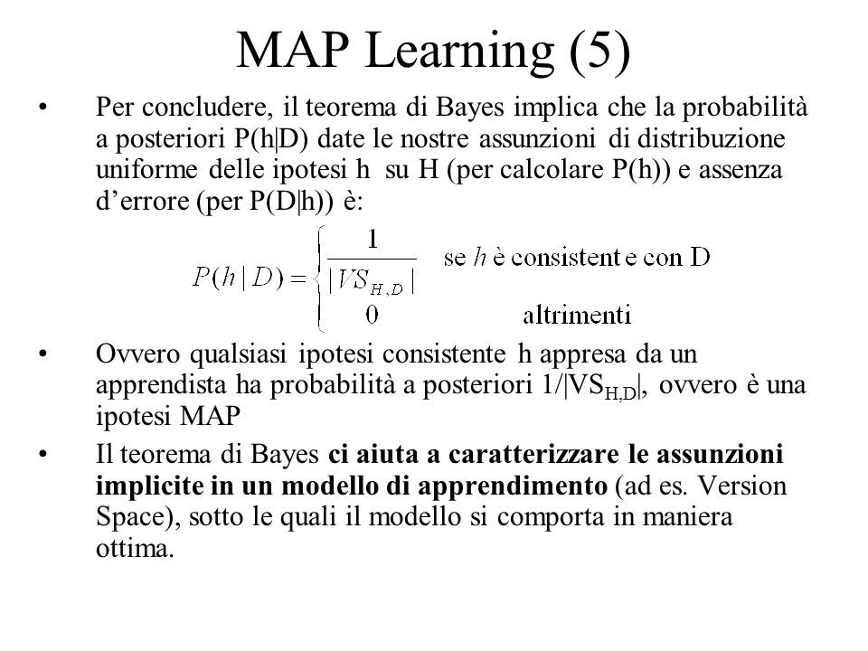 MAP Learning (5)