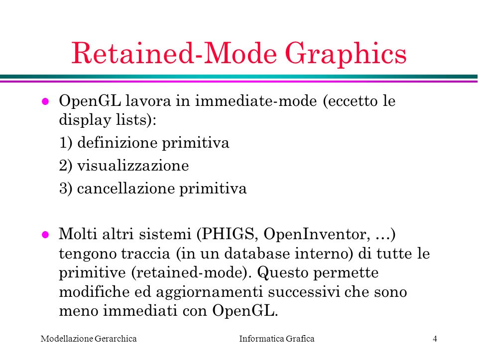 Retained-Mode Graphics