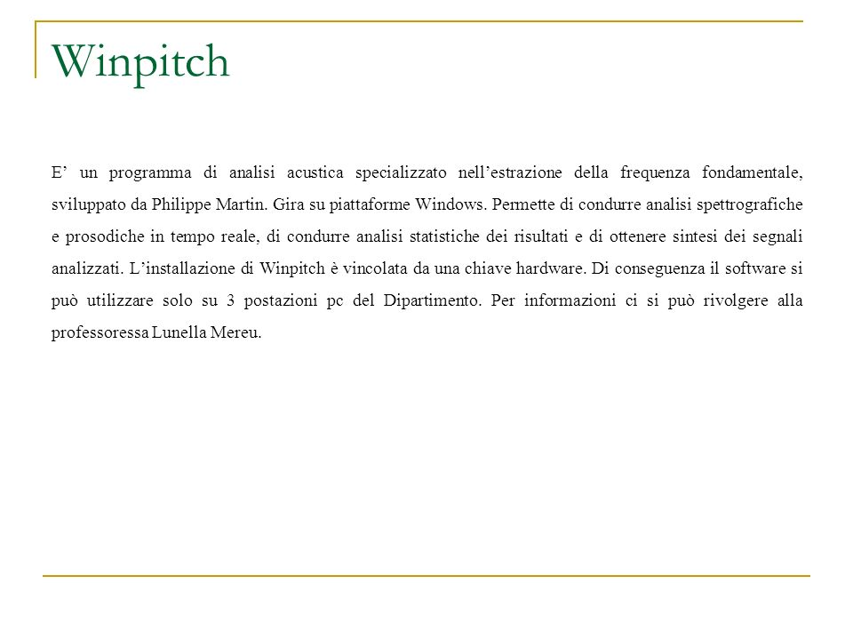 Winpitch