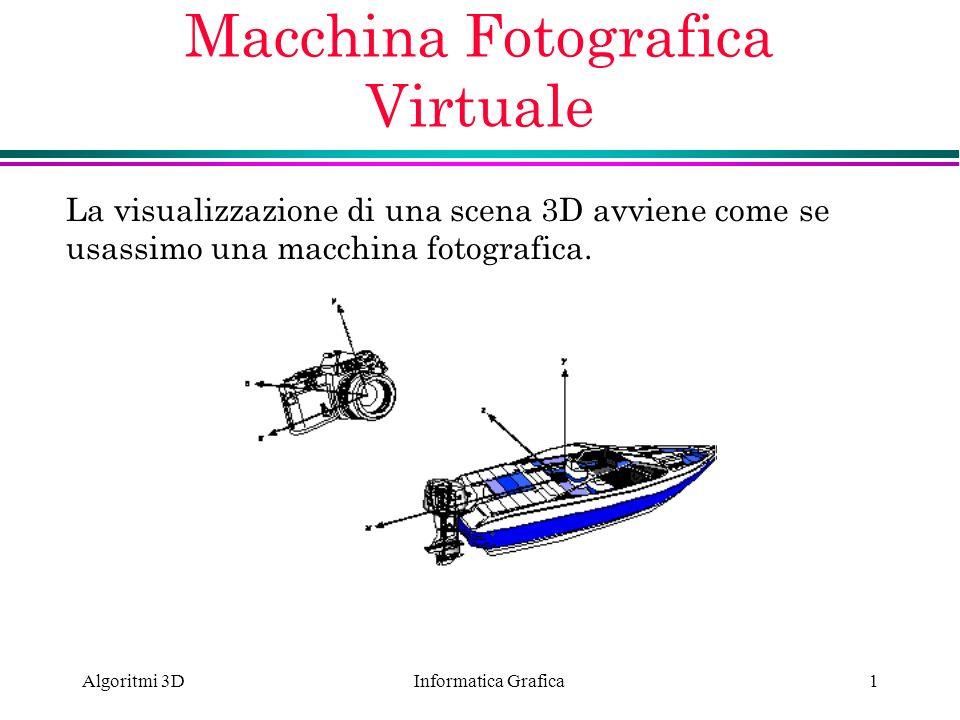 Macchina Fotografica Virtuale