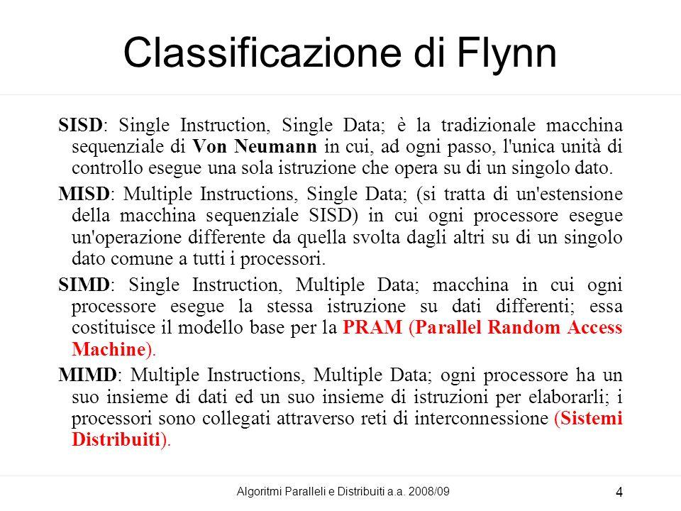 Classificazione di Flynn