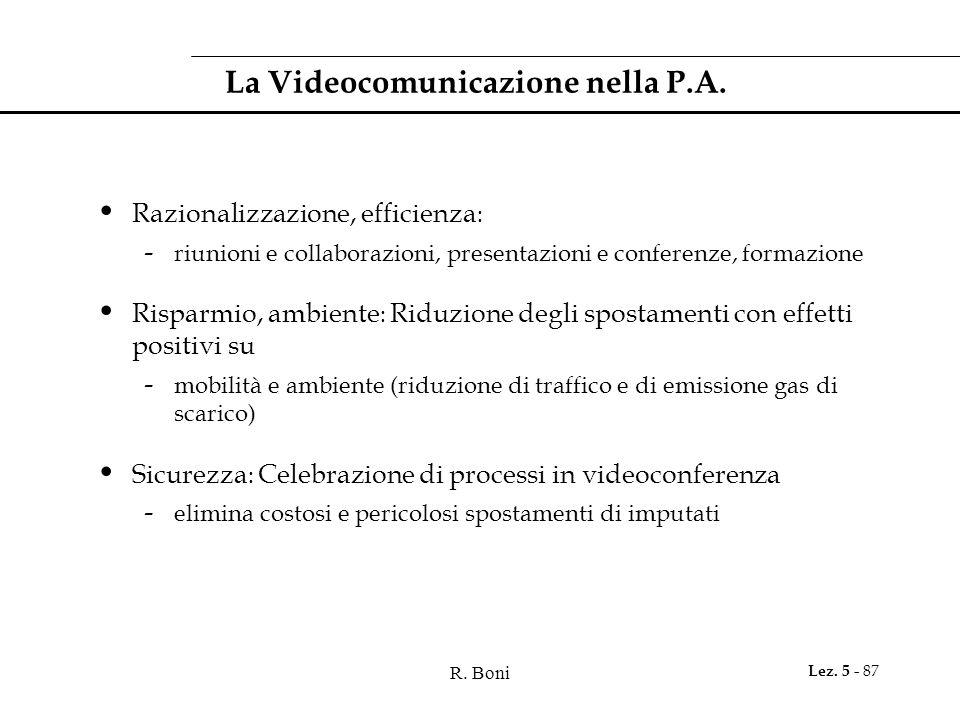 La Videocomunicazione nella P.A.