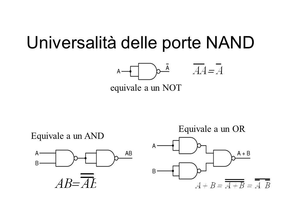 Universalità delle porte NAND