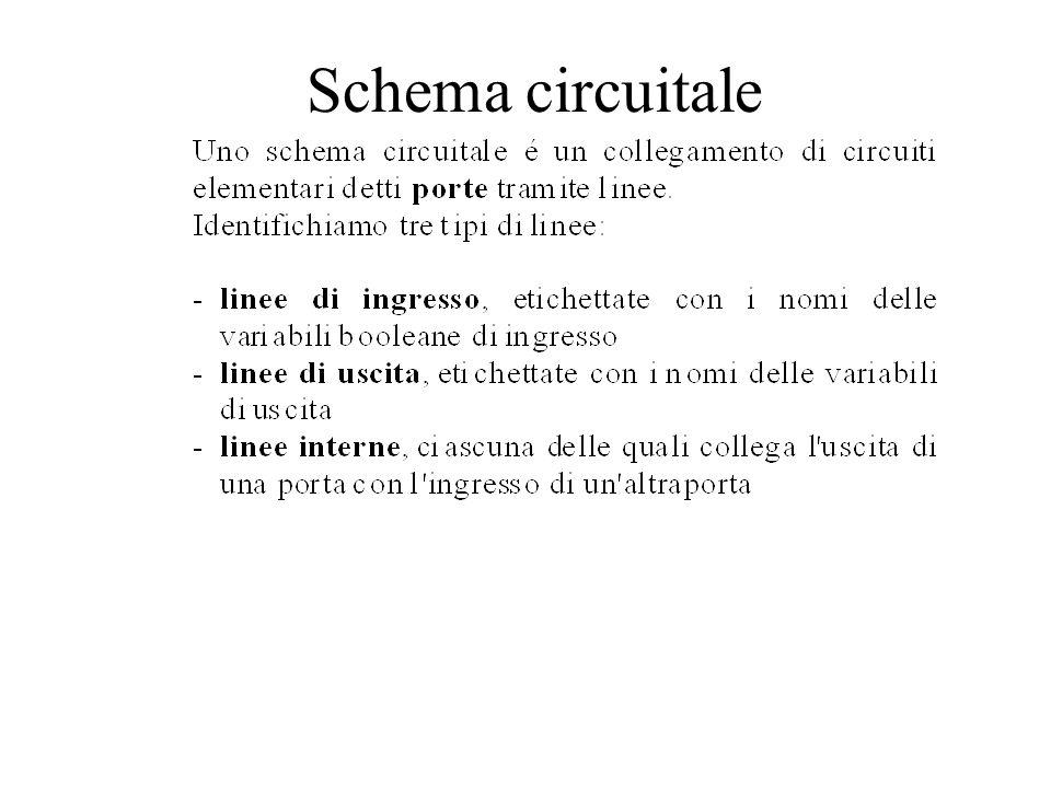 Schema circuitale