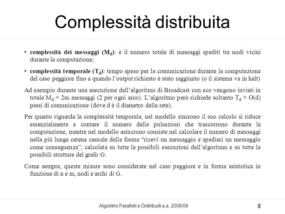 Complessità distribuita