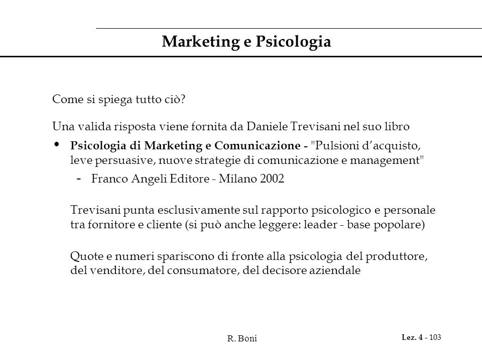 Marketing e Psicologia