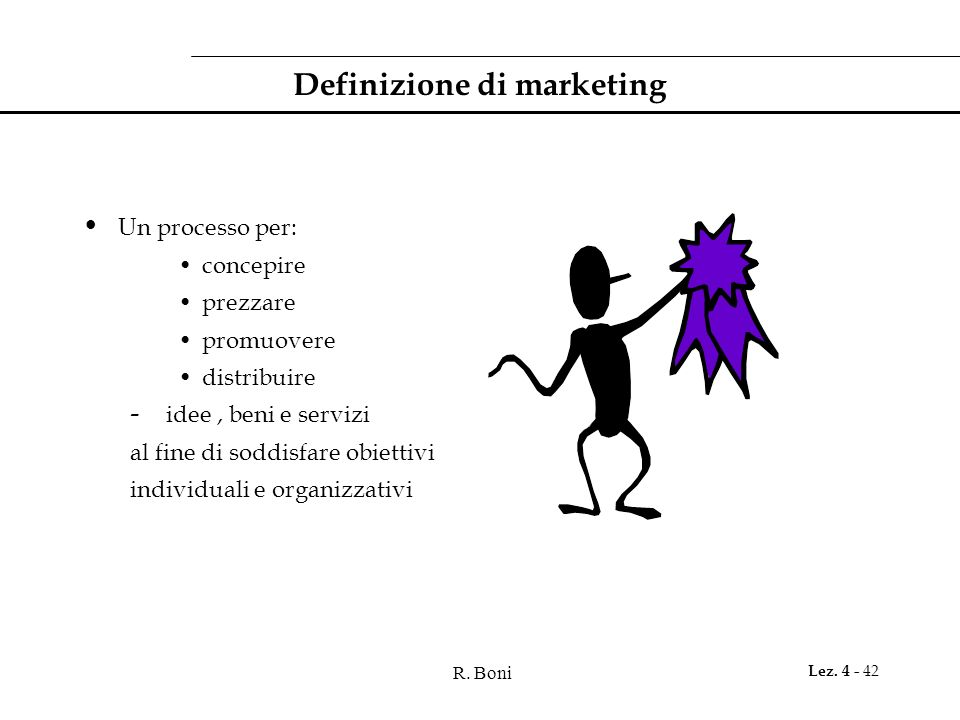 Definizione di marketing
