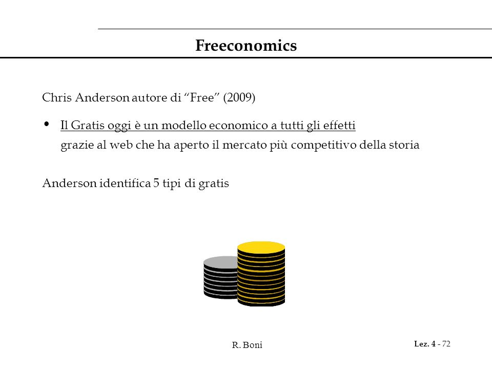 Freeconomics Chris Anderson autore di Free (2009)