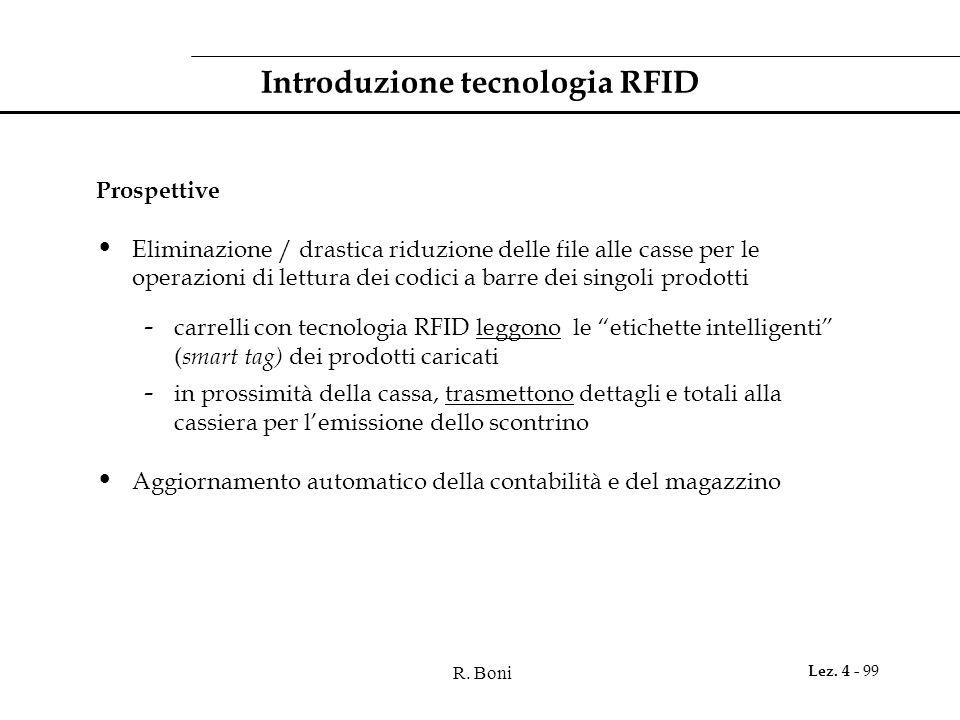 Introduzione tecnologia RFID