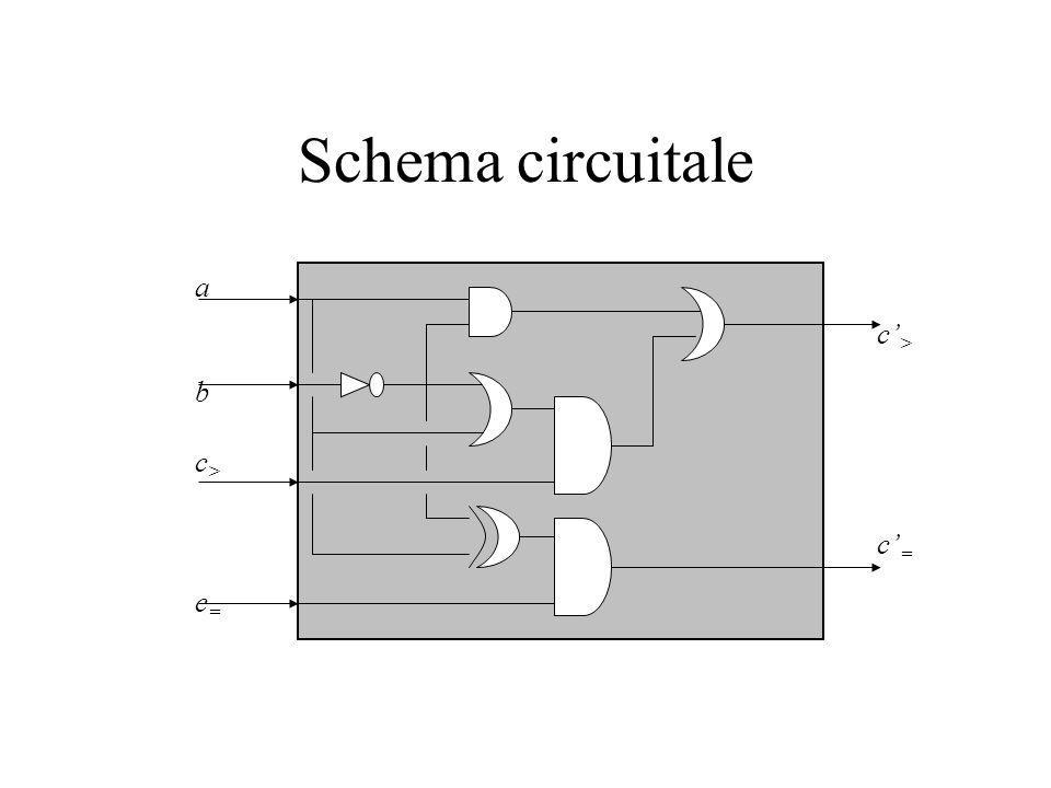 Schema circuitale a b c> c= c'> c'=