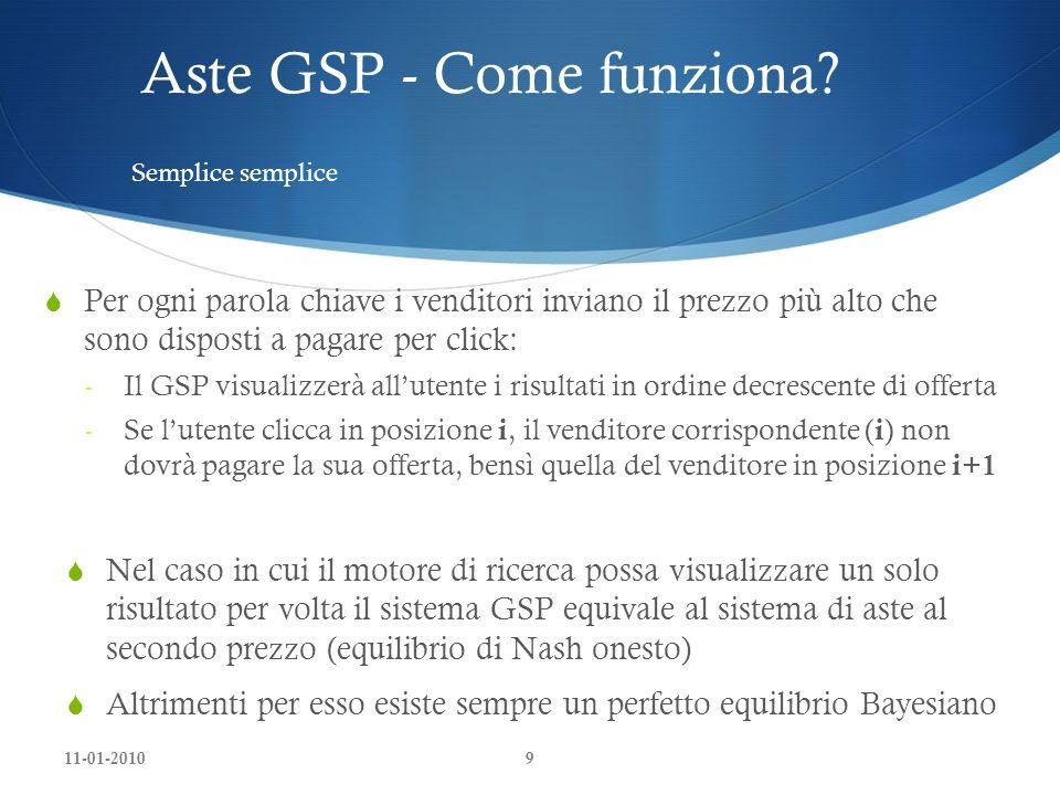 Aste GSP - Come funziona