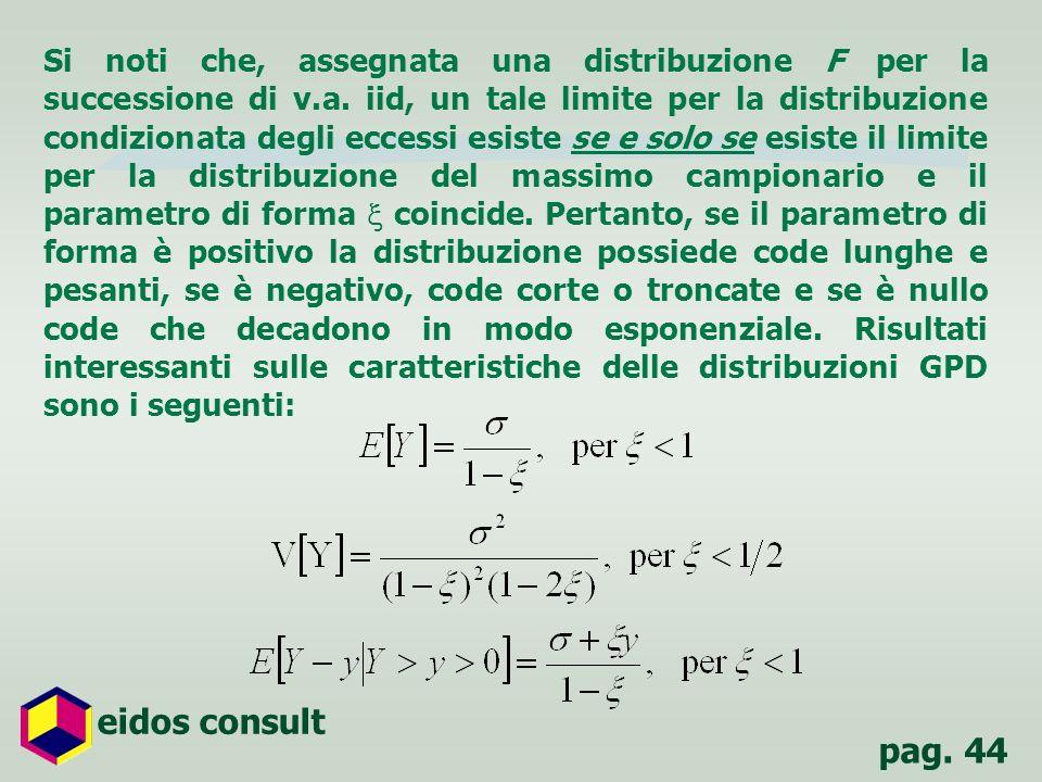 Si noti che, assegnata una distribuzione F per la successione di v. a