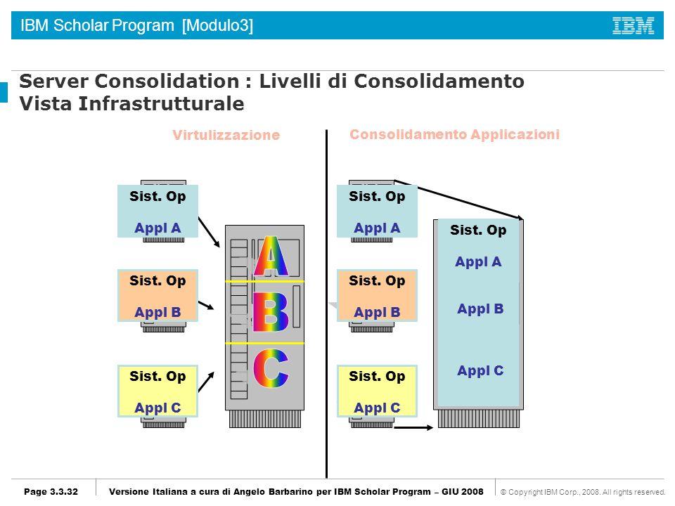 Consolidamento Applicazioni