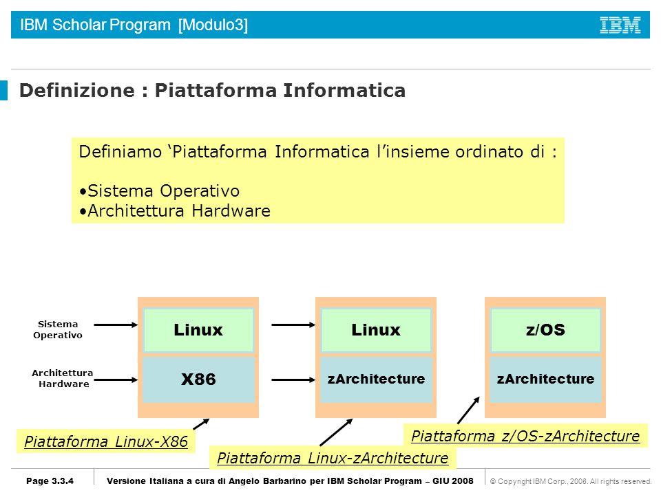 Definizione : Piattaforma Informatica