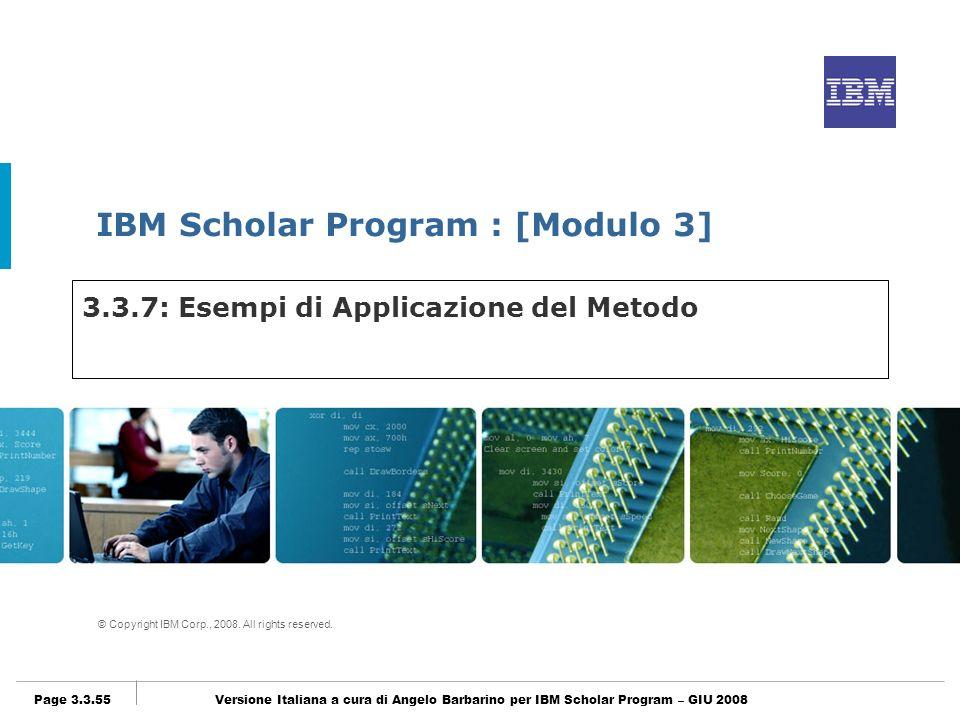 3.3.7: Esempi di Applicazione del Metodo