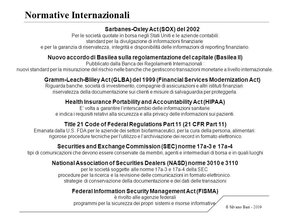 Normative Internazionali