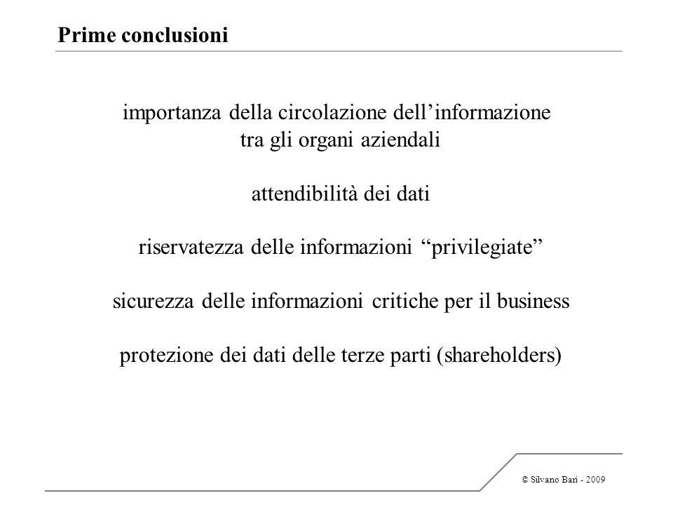 importanza della circolazione dell'informazione