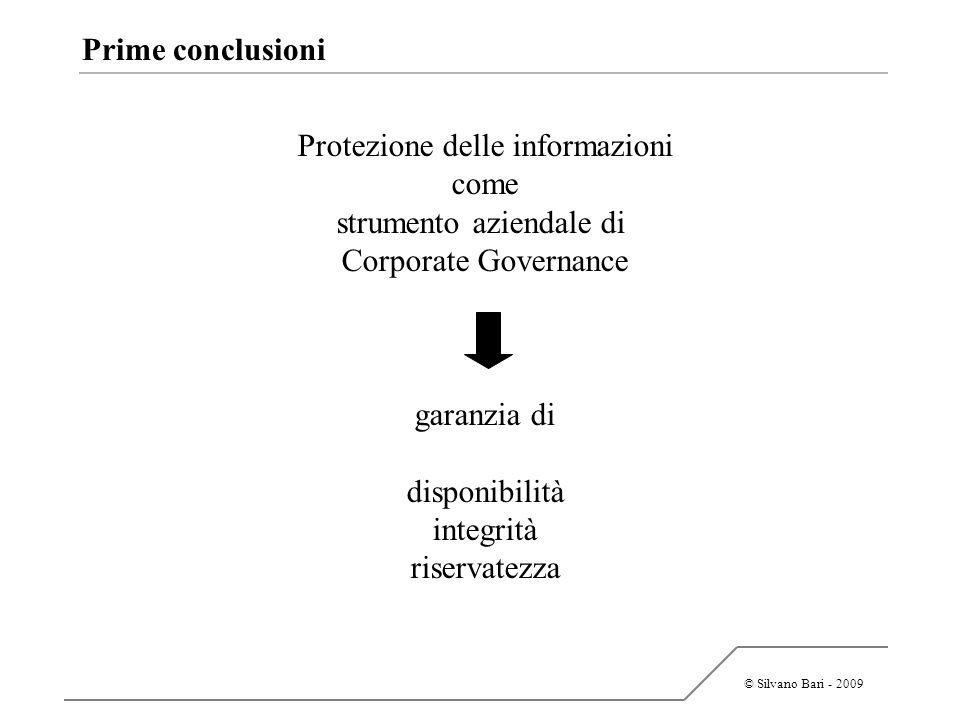 Protezione delle informazioni come strumento aziendale di