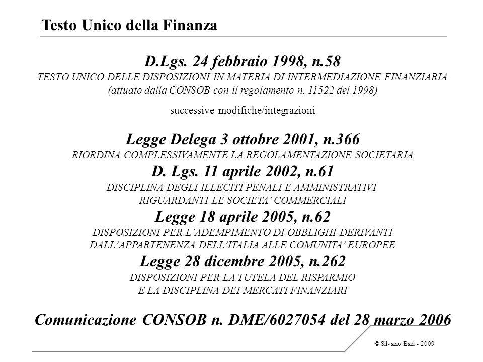 Comunicazione CONSOB n. DME/6027054 del 28 marzo 2006