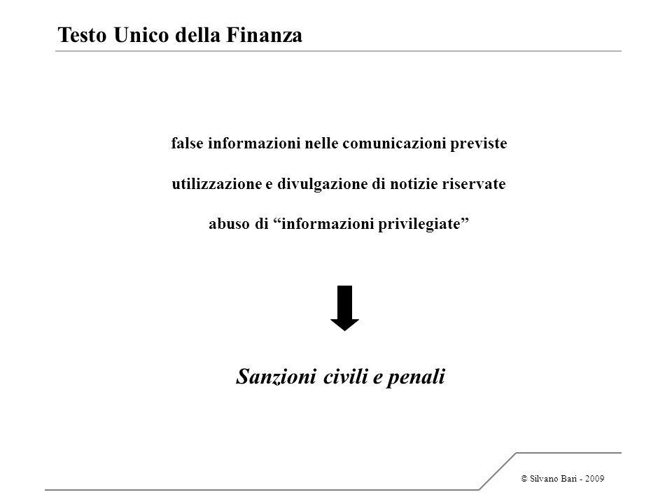 Sanzioni civili e penali