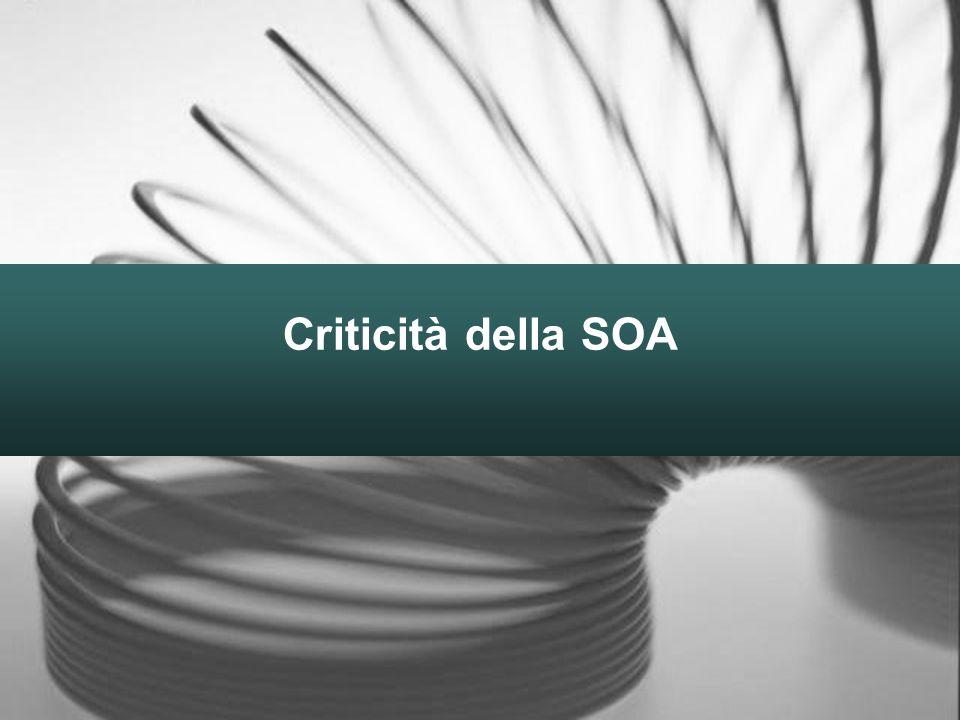Criticità della SOA