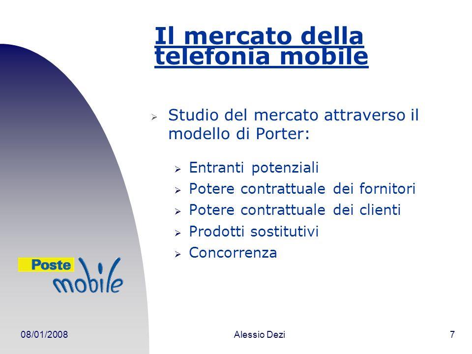 Il mercato della telefonia mobile