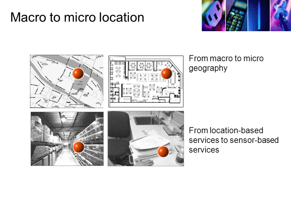 Macro to micro location