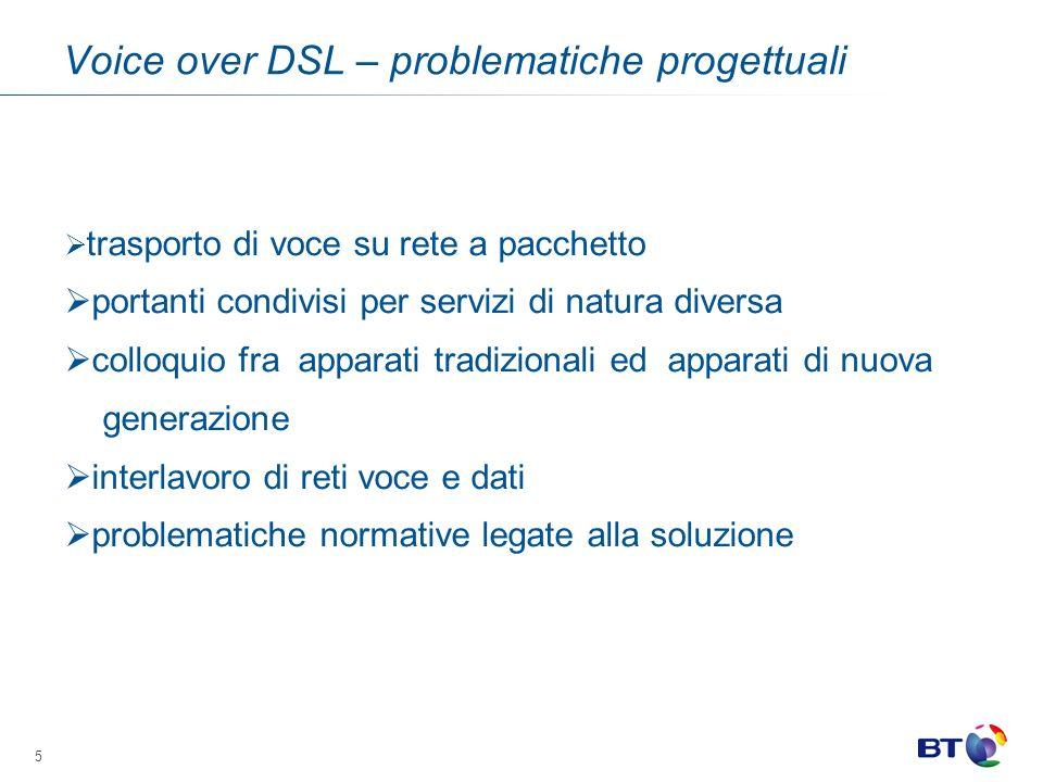 Voice over DSL – problematiche progettuali