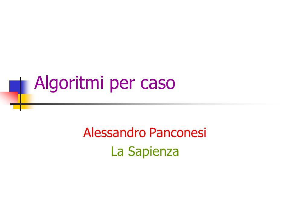 Alessandro Panconesi La Sapienza