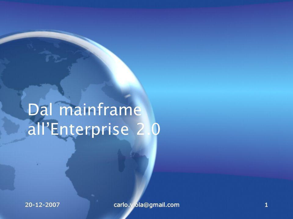 Dal mainframe all'Enterprise 2.0