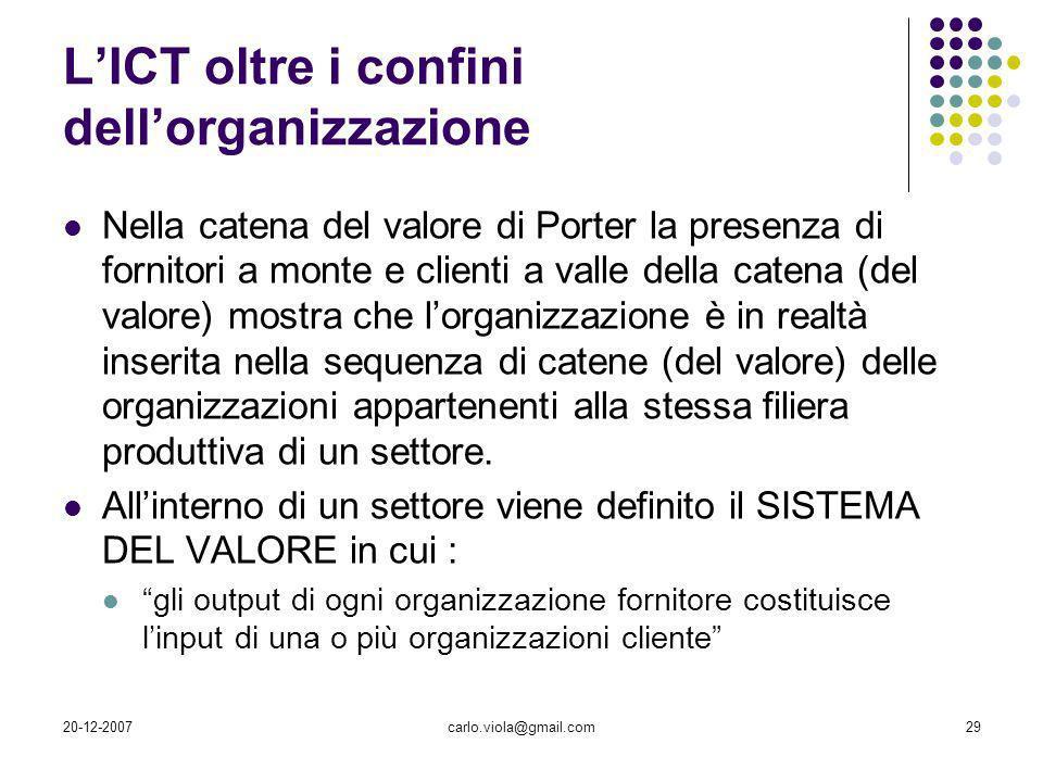 L'ICT oltre i confini dell'organizzazione
