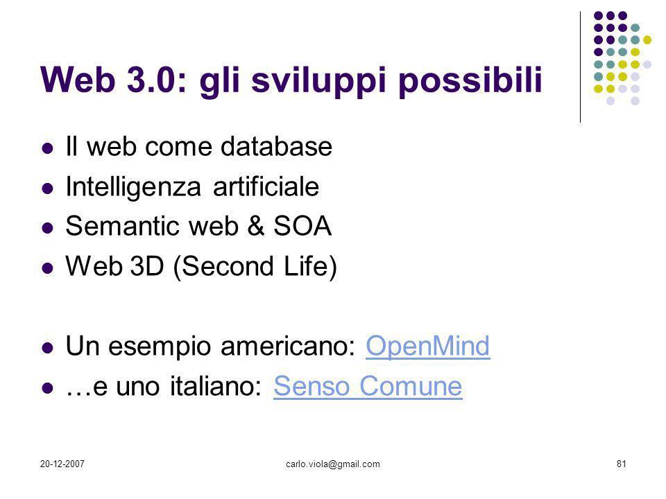 Web 3.0: gli sviluppi possibili