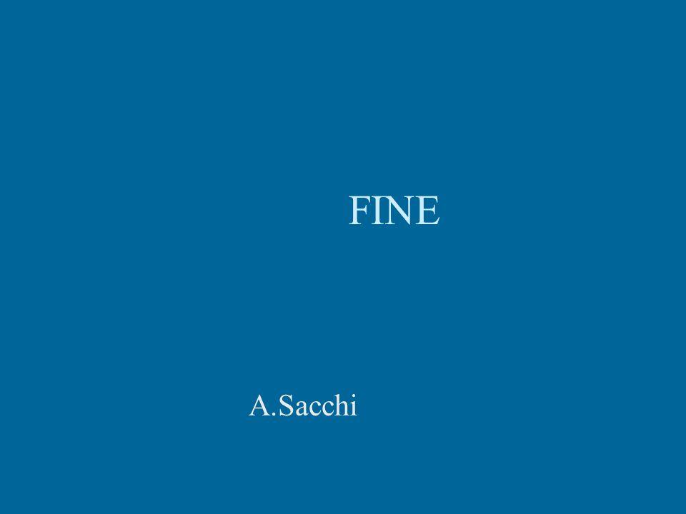 FINE A.Sacchi