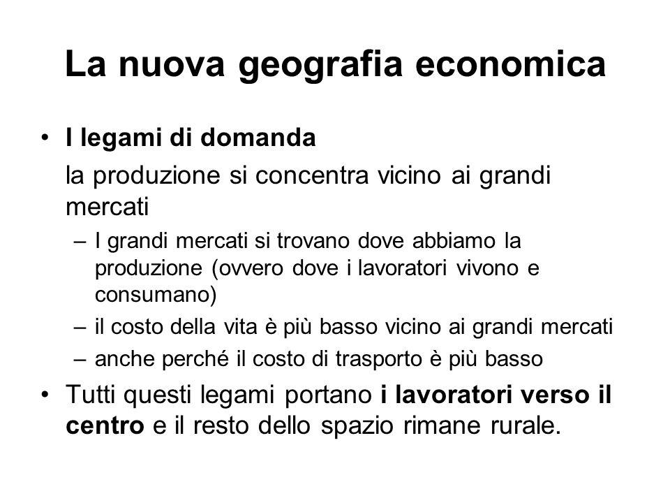 La nuova geografia economica