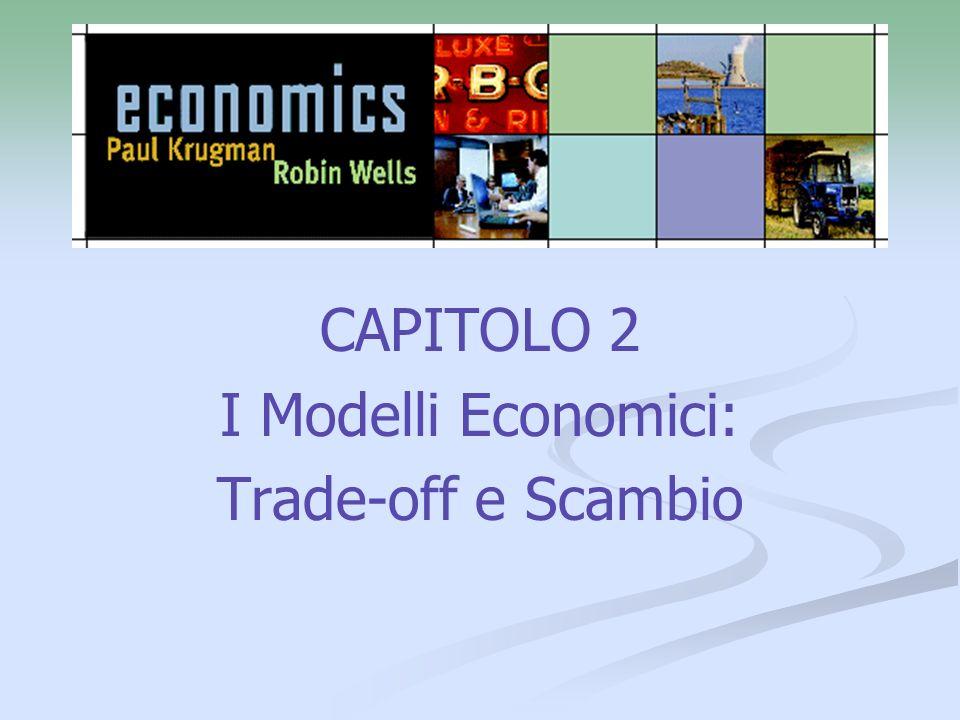 CAPITOLO 2 I Modelli Economici: Trade-off e Scambio