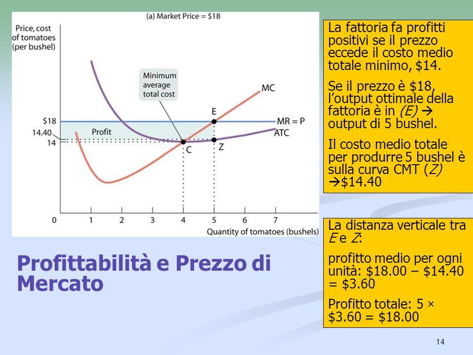 Profittabilità e Prezzo di Mercato