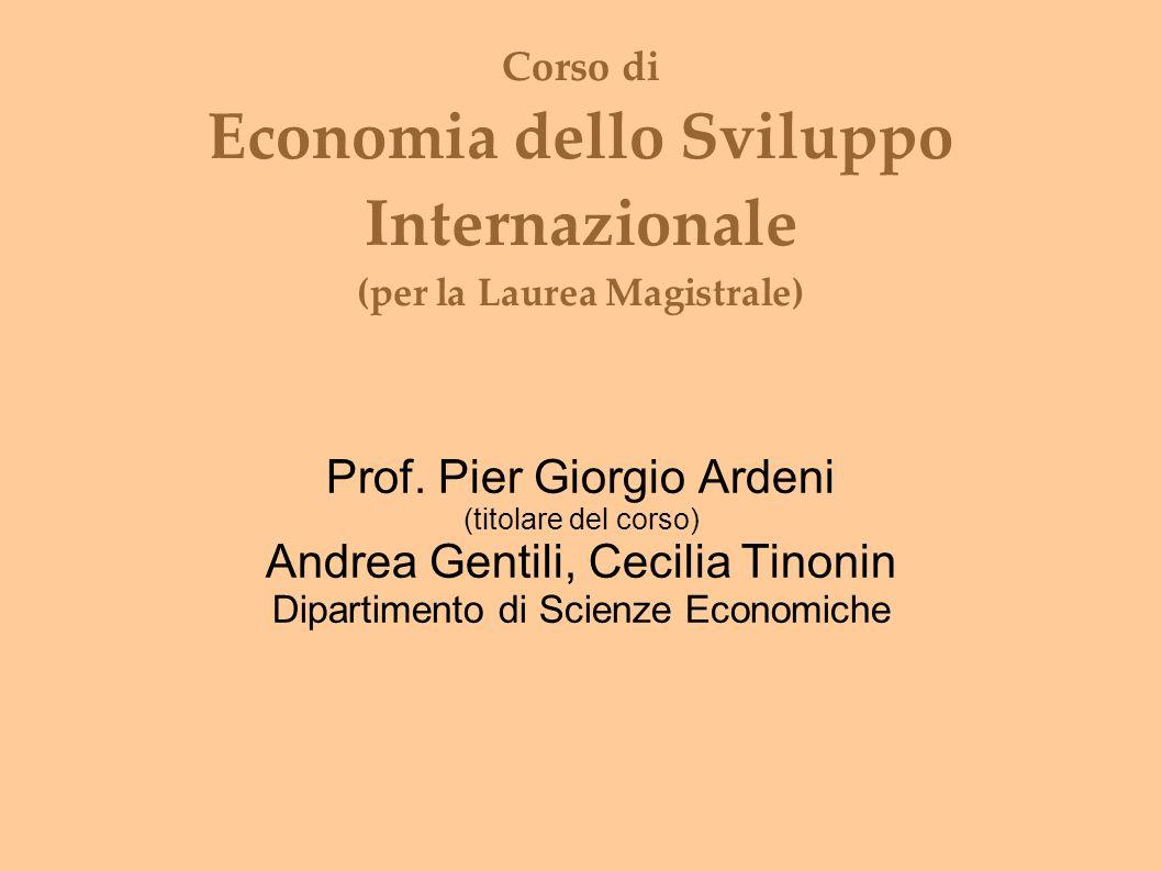 Prof. Pier Giorgio Ardeni