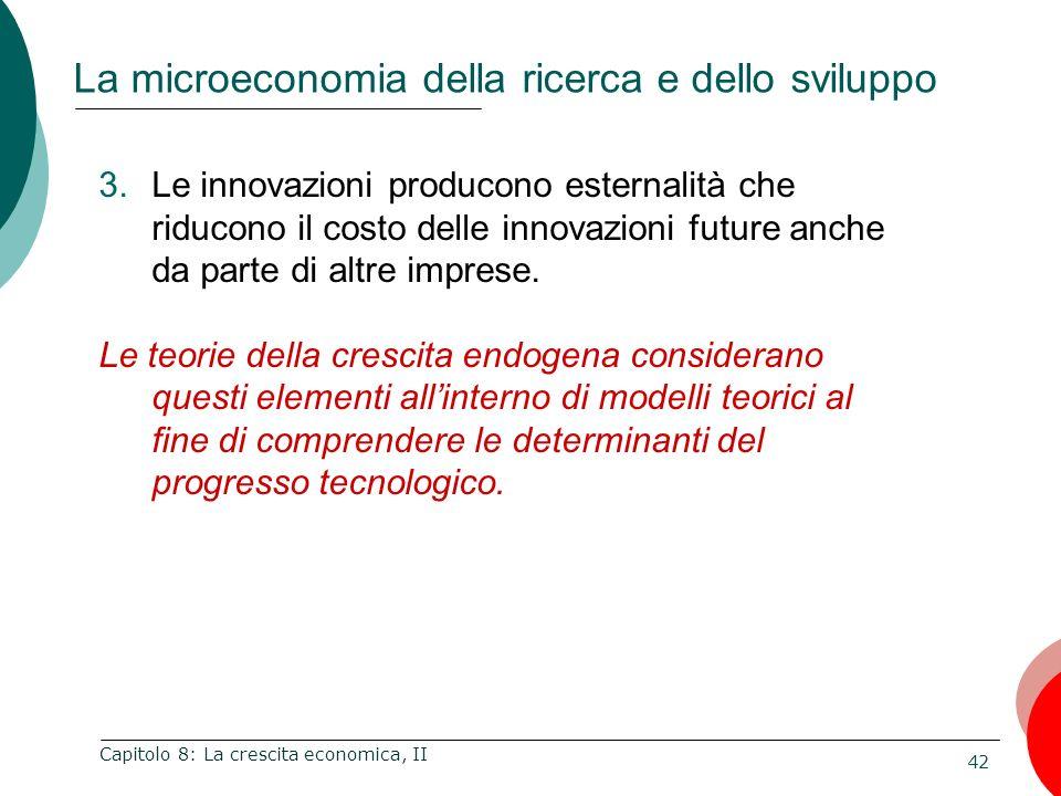 La microeconomia della ricerca e dello sviluppo