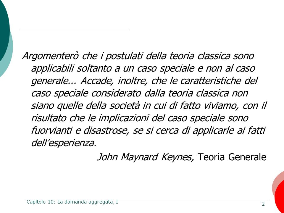 John Maynard Keynes, Teoria Generale